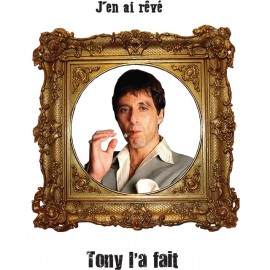 camisa blanca Tony Montana