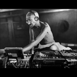 Camisa de Gandhi dj negro