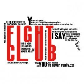 tee shirt fight club the big fighting blanc