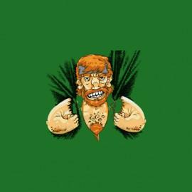 camisa de Chuck Norris afilado verde