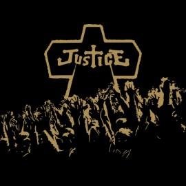 tee shirt justice en noir