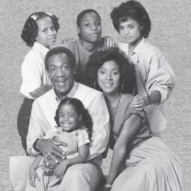 Camisa Cosby muestran a la familia gris