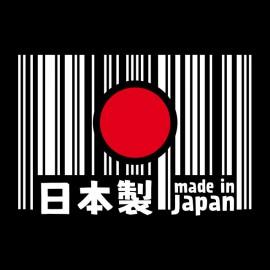 Tee Shirt Made in Japan noir
