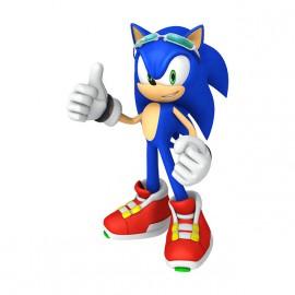 Camiseta blanca de Sonic