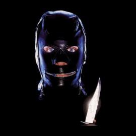 asesino en serie negro camiseta