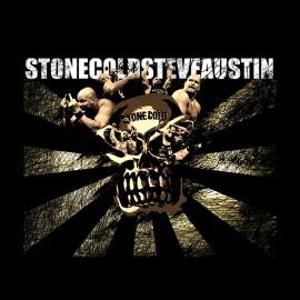 camisa fría piedra negro Steve Austin