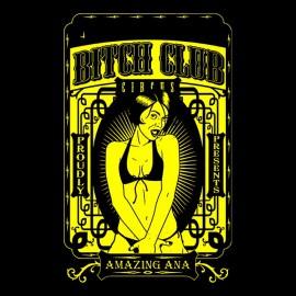 tee shirt Bitch rady noir