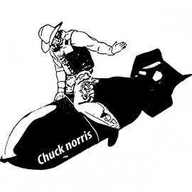 shirt Chuck norris the white boom