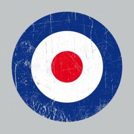 RAF roundel t-shirt the who Slate