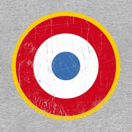 Tee Shirt The Who - les Qui - cocarde France - gris