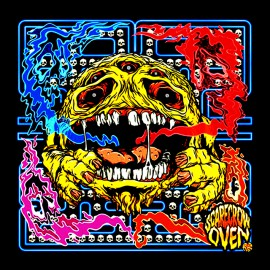 Pacman black shirt Scare