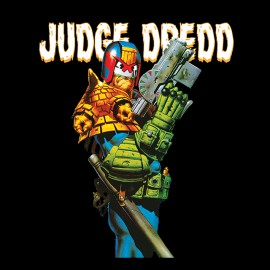 black t-shirt judge dredd