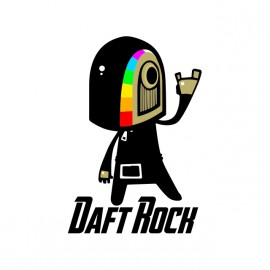 Daft camisa de la roca
