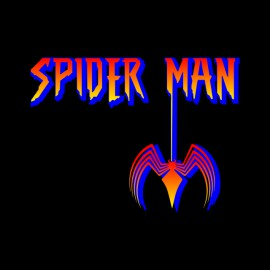tee shirt spider man noir
