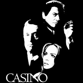 tee shirt Casino noir