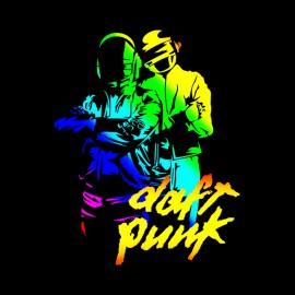 black shirt daft punk