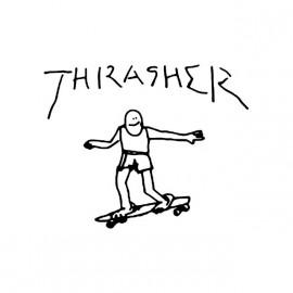 Thrasher camisa blanca