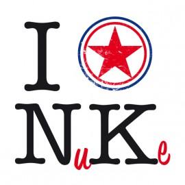 Tee Shirts Amo Corea del Norte
