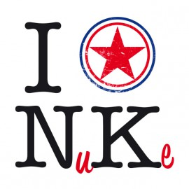 Tee Shirt I love North Korea