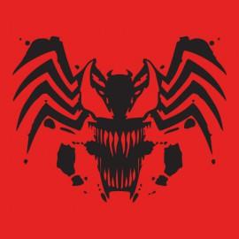 tee shirt spider man blackdevil red