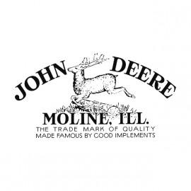 John deers gray shirt
