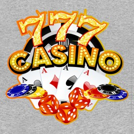 777 camisa gris casino