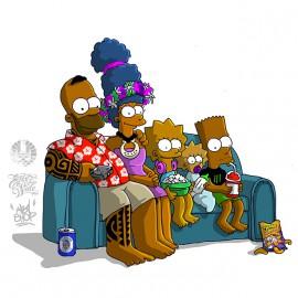 tahití Simpson