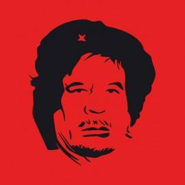 Gadafi camisa roja che
