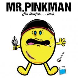 PACMAN camisa blanca MR Pinkman