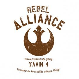 University Tee Shirt Rebel Alliance White