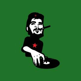 Che Guevara t-shirt green plate