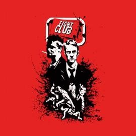 propio club de lucha muestra caracteres rojos