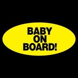 Camisa embarazo Camiseta del bebé a bordo negro