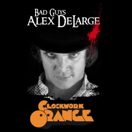 Tee Shirt Bad Guys Alex DeLarge CLOCKWORK ORANGE