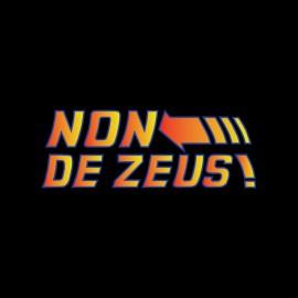 camisa de nuevo hacia el futuro no adorar a Zeus frase Doc Emmett Brown negro