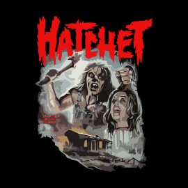 tee shirt hatchet noir