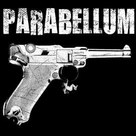 Tee Shirts Parabellum de 9 mm Luger Schultz NEGRO