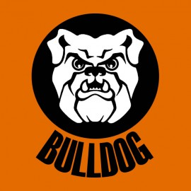 Bulldogs orange shirt
