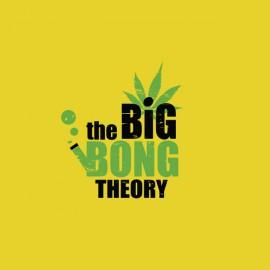 shirt the big bong theory yellow