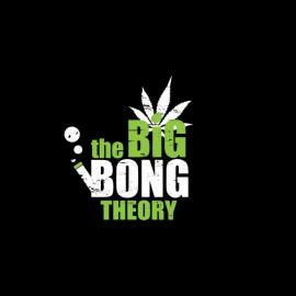tee shirt the big bang bong theory noir
