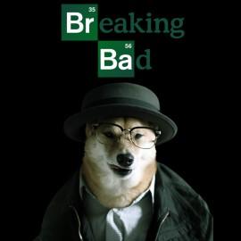 camisa de perro ladrando ropa de hombre malo negro