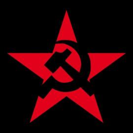 Tee Shirts URSS rojo negro estrella