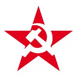 Tee Shirt URSS Etoile rouge Blanc