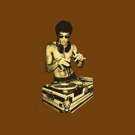shirt Dj Bruce lee new brown Version