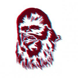 Tee Shirts SW Chewie Pop Blanca