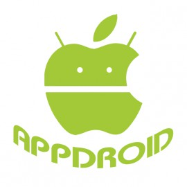 appdroid white shirt