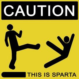Tee Shirt This is Sparta 300 jaune