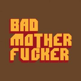 Tee Shirt Pulp Piction Bad Mother Fucker - MARRON