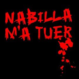 Tee Shirt Nabilla kill me BLACK