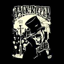 camisa de Jack el destripador negro